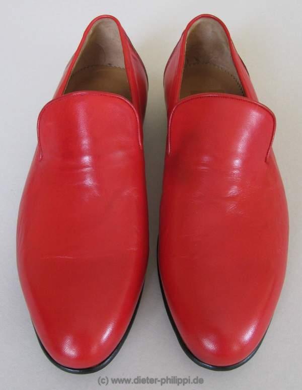 Loafer Papst, Pastloafer, Schuhe Papst, Rote Schuhe Papst Benedikt XVI