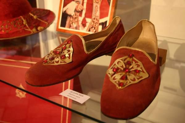 Schuhe Papst Johannes XXIII, Shoes Pope John XXIII