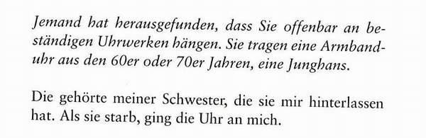 Buchausschnitt Peter Seewald Armbanduhr Benedikt XVI.